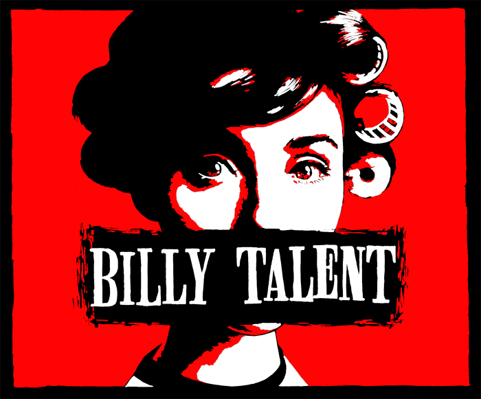 Billy-Talent-Roller-Girl-T-Shirt-2002