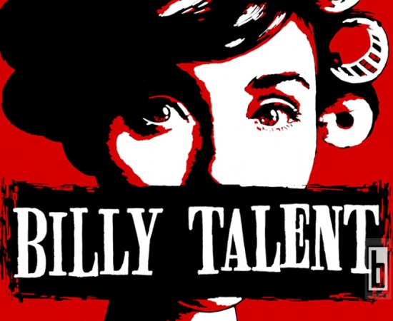 Billy Talent Roller Girl T Shirt graphics by Bowman