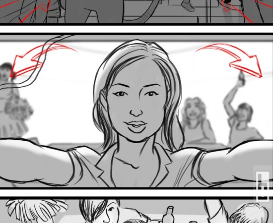Bud Light Superbowl storyboards by bowmanitis
