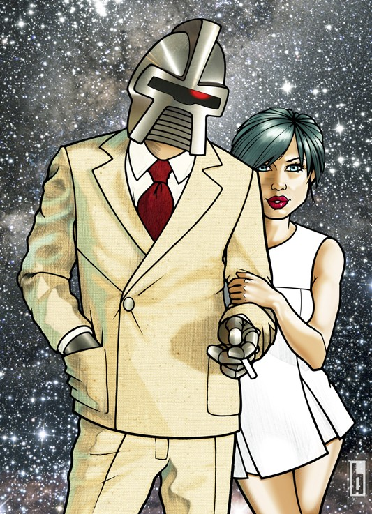 Cylon Lovin Illustration 2009