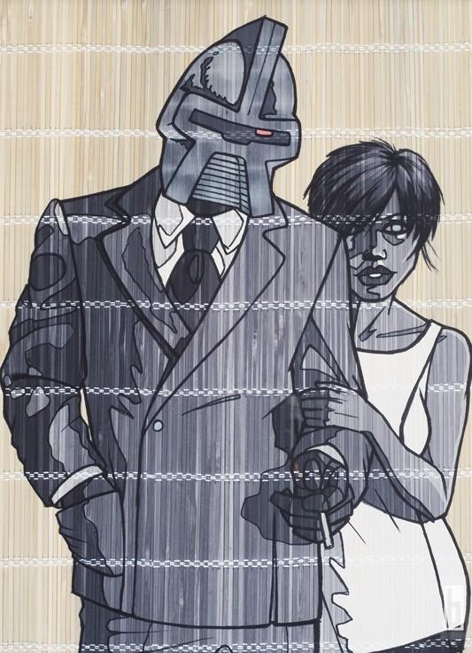 Cylon Lovin Original Illustration 2006