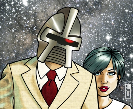 Cylon Lovin illustration by bowmanitis