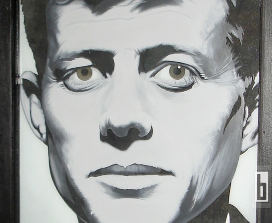 JFK Americas Fallen Hero painting by bowmanitis