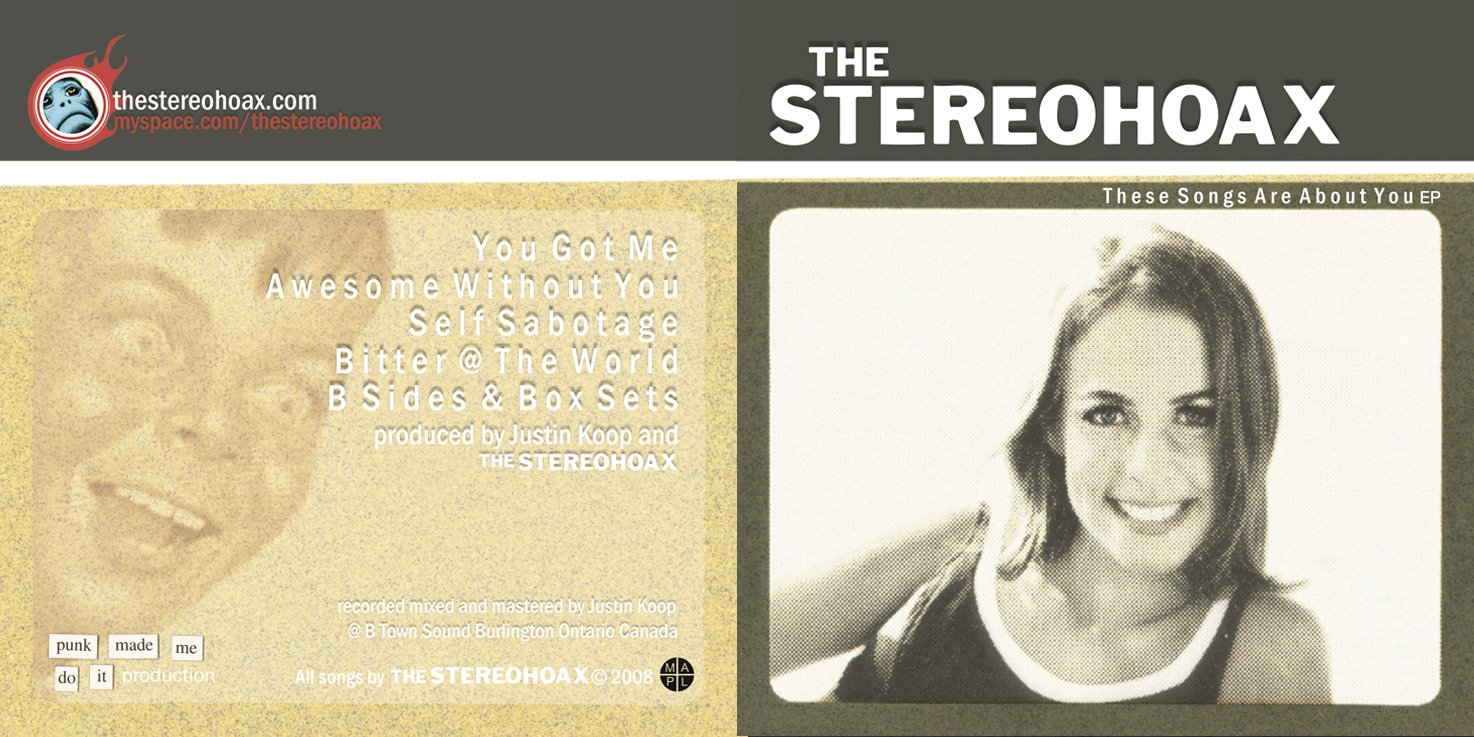 STEREOHOAX EP Layout 2008