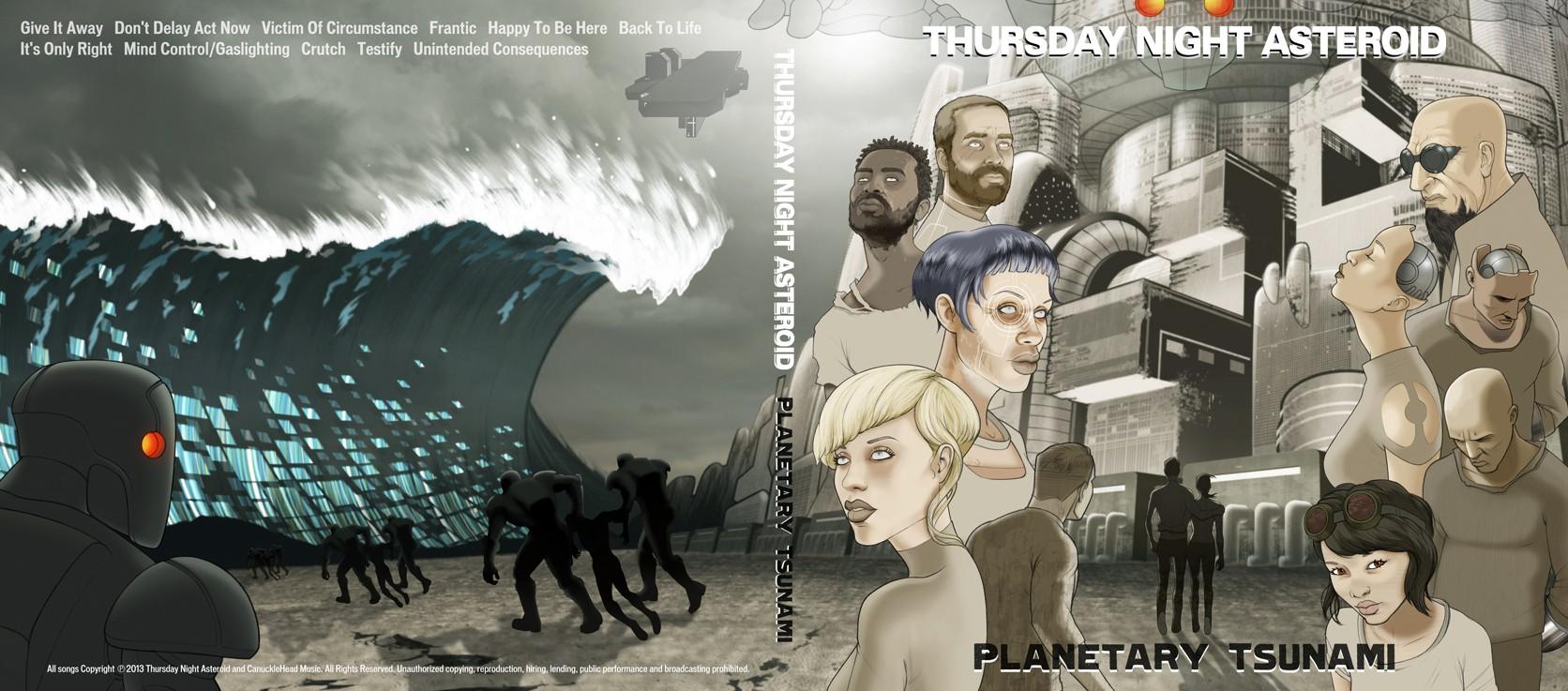 Thursday Night Asteroid Layout 2013