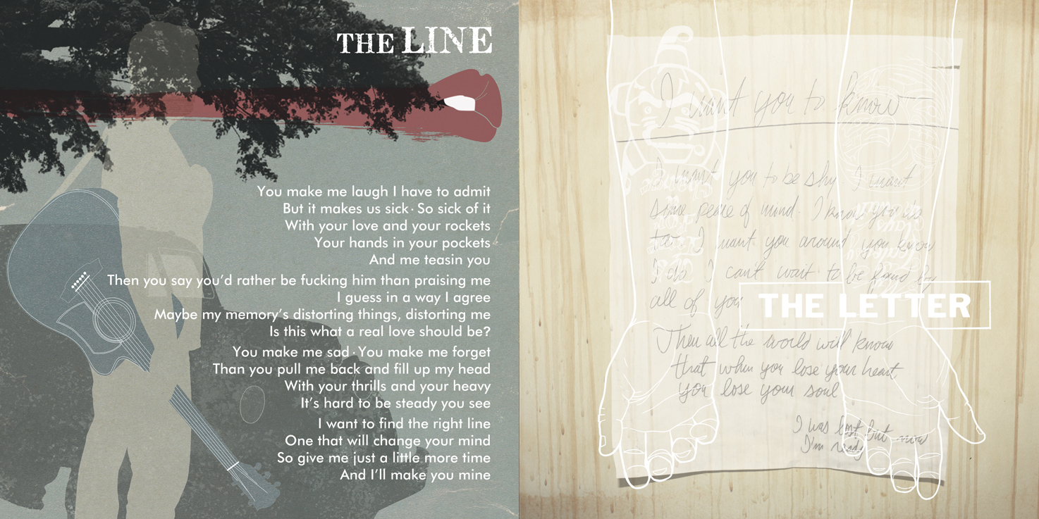 Tomi Swick Layout The Line & The Letter