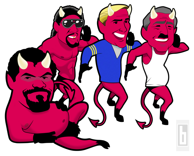 OJ Devils graphics by bowmanitis