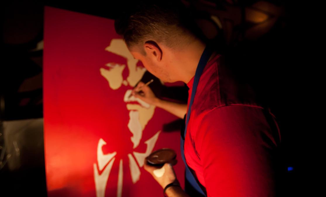 Bowman Painting KFChe Live 2012