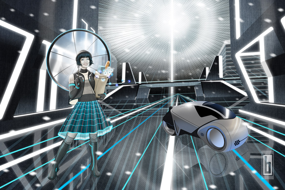 Tron Legacy Last-Minute Shopping Push In