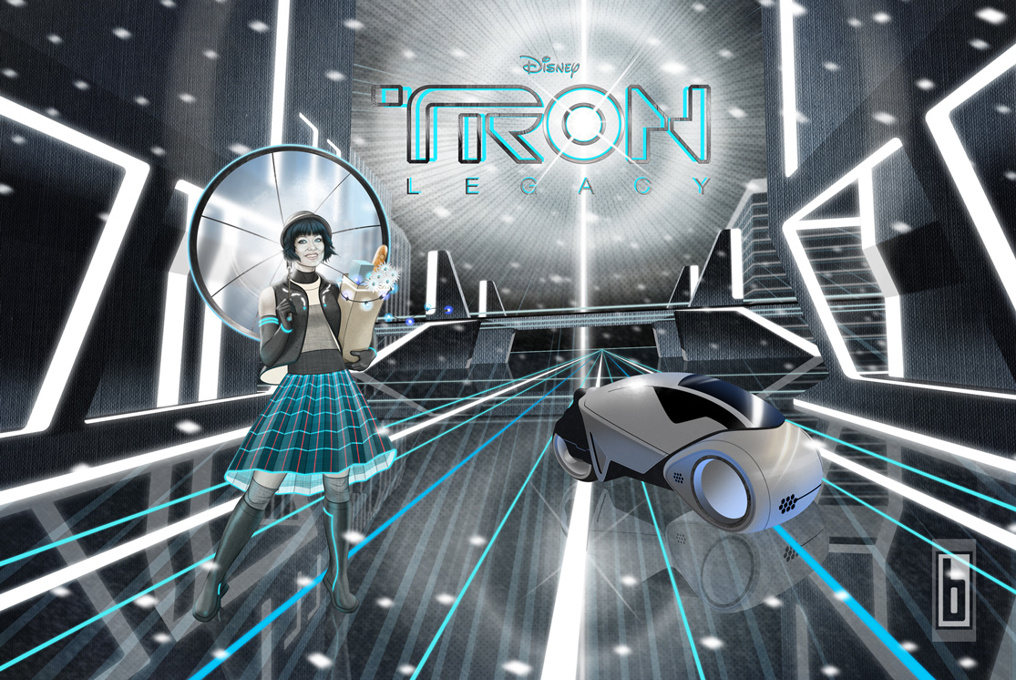 Tron Legacy Last-Minute Shopping