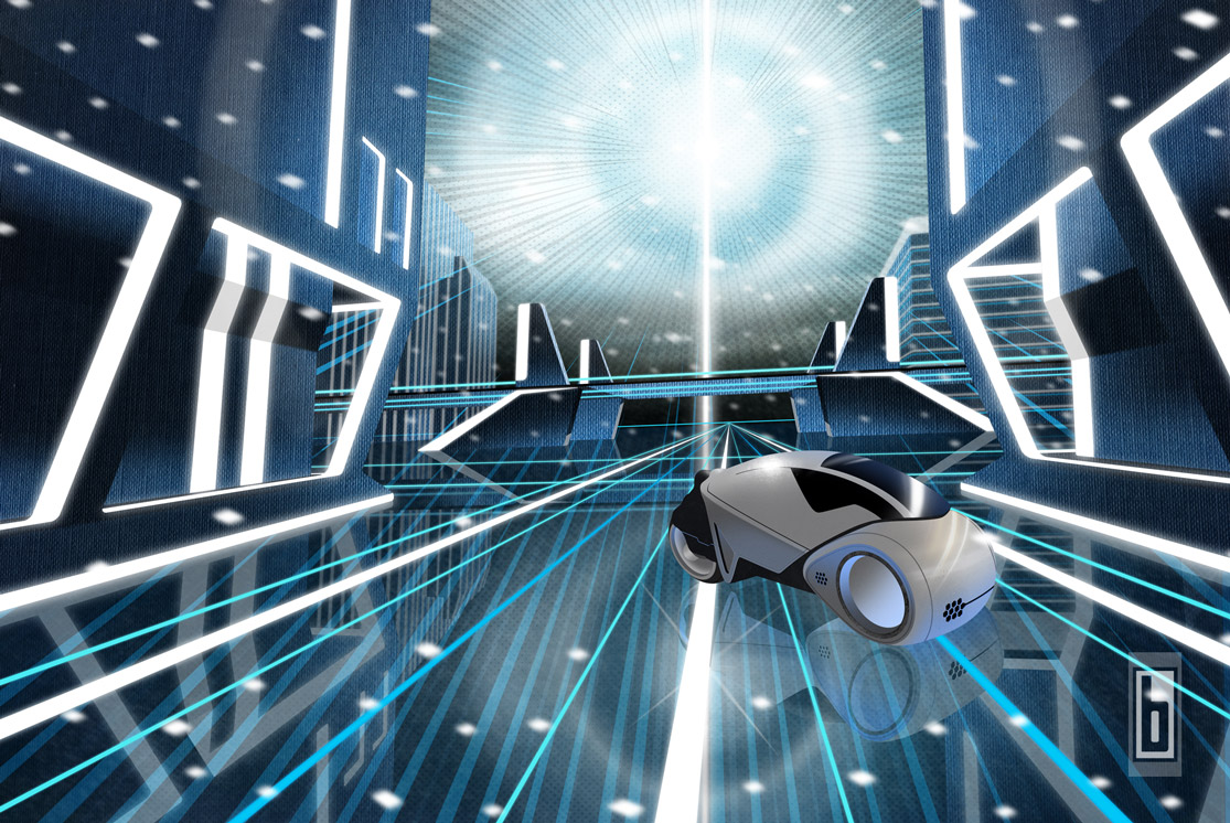 Tron Legacy Grid & Light Cycle