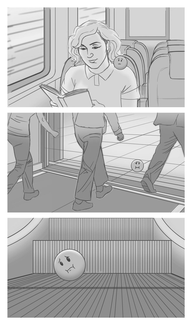 Gravol Storyboards