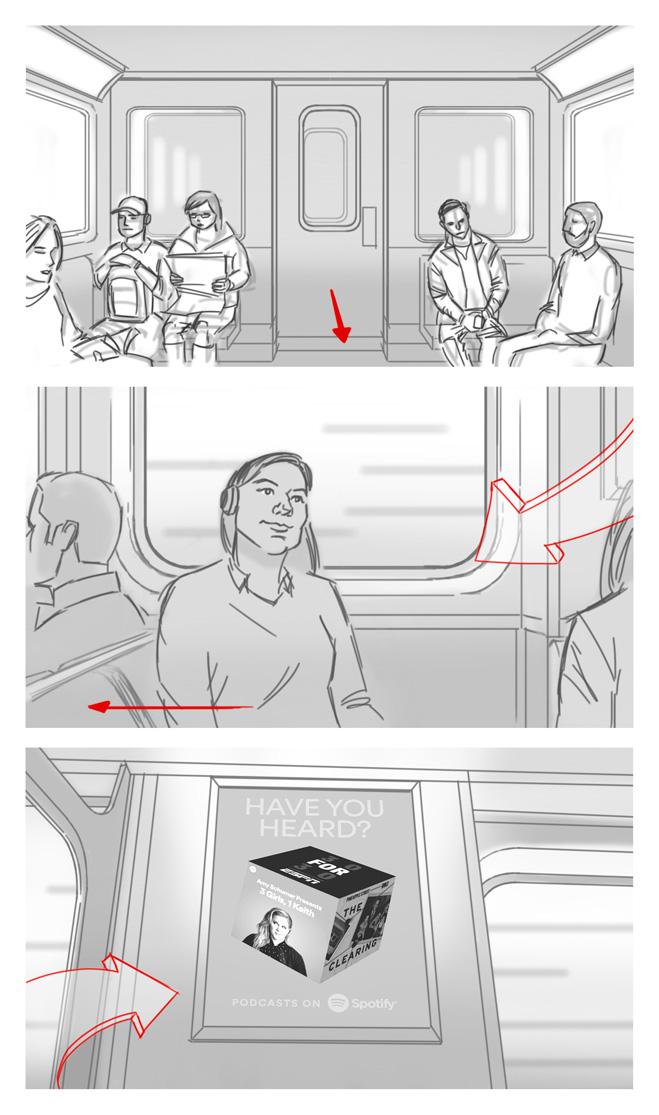 SPOTIFY Storyboards Page 2