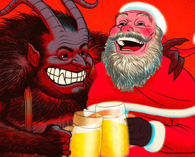 Krampus & Santa Laughing Featured image