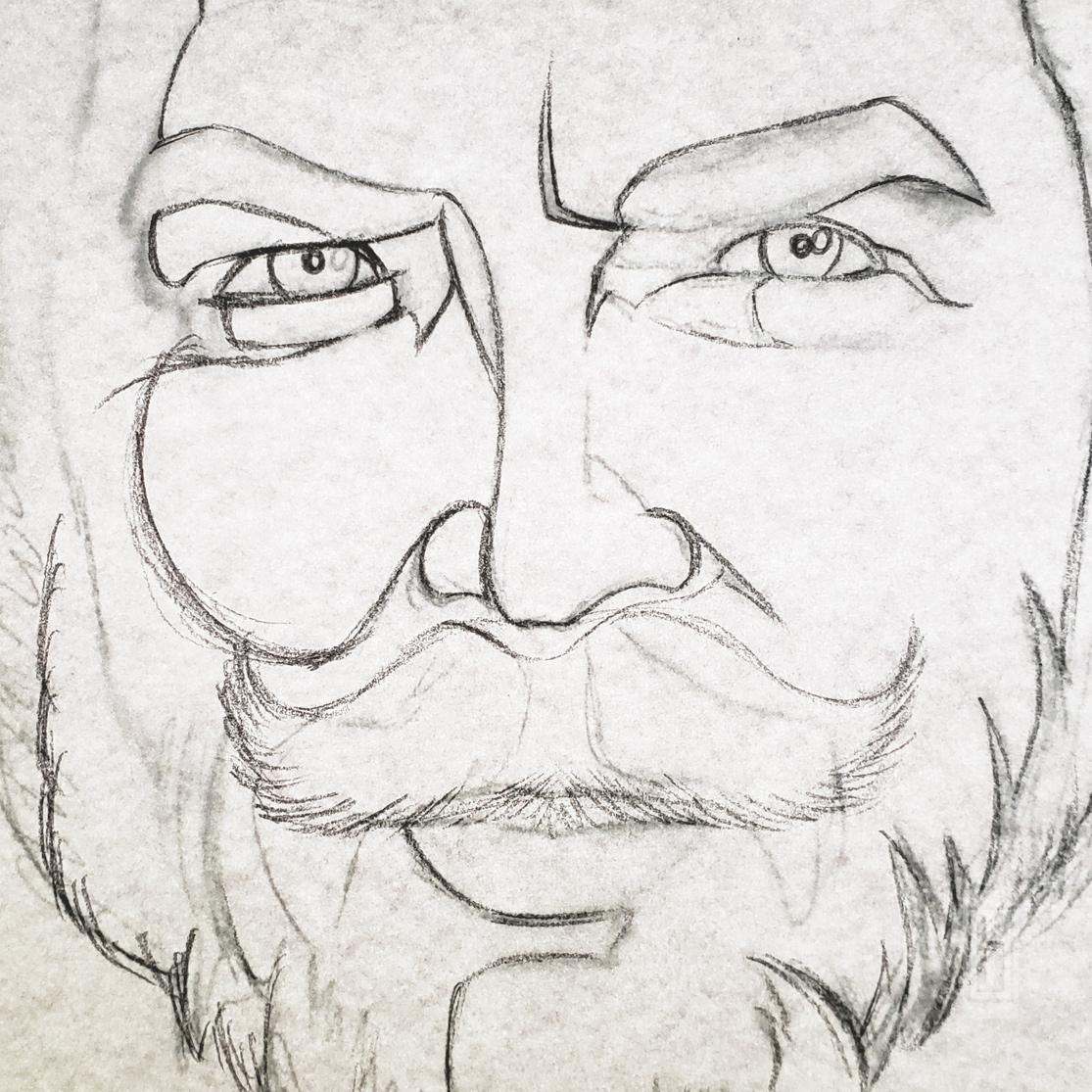 KFChe Pencil Line Close Up