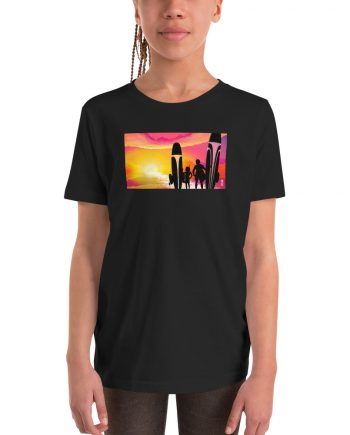 The Fetts Sunset Youth T-shirt Image